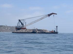 Palos Verdes Reef Barge